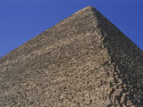 A Close Look at the Huge Limestone Blocks of Great Pyramid of Cheops Photographic Print by Stephen St. John
