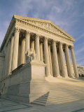 The Front Entrance of the Supreme Court Building Photographic Print by Richard Nowitz