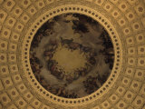 The Interior Dome of the Capitol Building in Washington, D.C., District of Columbia, United States Photographic Print by Stacy Gold
