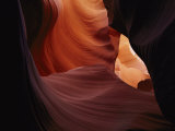A Close View of a Crevice in Antelope Canyon Photographic Print by Paul Nicklen