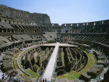 A View Inside Rome&#39;s Colosseum Photographic Print by Taylor S. Kennedy