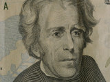 Close up of Andrew Jackson on the Newly-Designed Twenty Dollar Bill Photographic Print by Joel Sartore