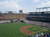 Baseball Game at Orioles Park Photographic Print by Brian Gordon Green