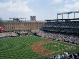 Baseball Game at Orioles Park Lámina fotográfica por Green, Brian Gordon