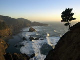 A Scenic View of the Oregon Coast at Samuel H. Boardman State Park Photographic Print by Phil Schermeister