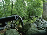 Battlefield Cannon, Gettysburg National Military Park Photographic Print by Brian Gordon Green