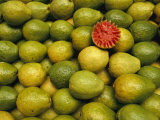 Display of Guavas in an Open Air Market on Copacobana Beach Photographic Print by Richard Nowitz