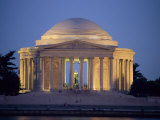 View of the Jefferson Memorial Photographic Print by Richard Nowitz