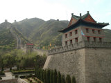 View of a Restored Section of the Great Wall Near Beijing Photographic Print by Richard Nowitz