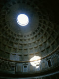 The Pantheon's Oculus Photographic Print by Taylor S. Kennedy