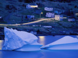 Small Icebergs Float Next to the Shore Photographic Print by Randy Olson