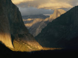 Sunlight Shines on Yosemite Valley Photographic Print by Phil Schermeister