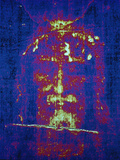 This is a Computer-Enhanced Image of the Face on the Shroud of Turin Photographic Print by Jr, Victor R. Boswell