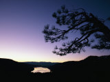 Twilight over Donner Lake Photographic Print by Phil Schermeister