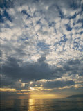 The Sun Sets over the Pacific Ocean off Shell Beach Photographic Print by Marc Moritsch