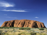 Ayers Rock Photographic Print by Nicole Duplaix
