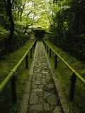 A Zen Path Leads to the Entrance to the Garden at Koto-In Photographic Print by Michael S. Yamashita