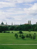 View of the English Garden in Munich, Germany Fotografie-Druck von Taylor S. Kennedy