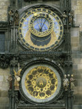 The Famous Astronomical Clock in Prague Photographic Print by Taylor S. Kennedy