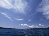 A View of Lake Superior and Sky at Isle Royale National Park Photographic Print by Phil Schermeister