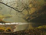 Creek Runs Through Blue Hole Campground Photographic Print by Raymond Gehman