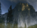 Reflection of El Capitan in the Merced River Photographic Print by Bobby Model