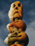 Stacked Halloween Pumpkins Photographic Print by Sam Abell