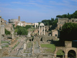 View of the Roman Forum Photographic Print by Taylor S. Kennedy