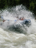 Whitewater Rafting the Lunch Counter Rapids on the Snake River Photographic Print by Gordon Wiltsie
