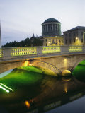 View of the Four Courts and the Liffey River Photographic Print by Richard Nowitz