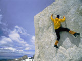 Bouldering on El Paso Superior Photographic Print by Bobby Model