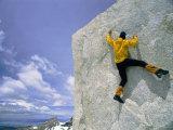 Bouldering on El Paso Superior Impressão fotográfica por Bobby Model