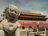 The Gate of Heavenly Peace at Tiananmen Square Photographic Print by Richard Nowitz