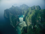 An Aerial View of an Island in Thailand Photographic Print by Jodi Cobb