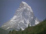 Classic View of the Matterhorn Photographic Print by Walter Meayers Edwards