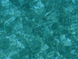 A Detail of Sun-Dappled, Clear Blue Water Photographic Print by Heather Perry