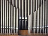 Three Rows of Organ Pipes Fotodruck von Kenneth Garrett