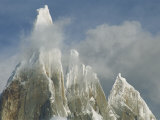 The Summit of Cerro Torre Massif Rises Through the Clouds Photographic Print by Jimmy Chin