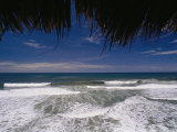 Surf Gently Laps at a Beach in Mexico Photographic Print by Raul Touzon