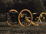 Civil War Cannon and Caisson, Manassas National Battlefield, Virginia Photographic Print by Medford Taylor