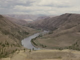 View of the Clearwater River Running Through the Nez Perce Reservation Photographic Print by B. Anthony Stewart