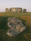 A View of Stonehenge in the Morning Light Photographic Print by Richard Nowitz