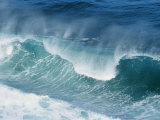 Waves at Sea Pound against Each Other Photographic Print by Nicole Duplaix
