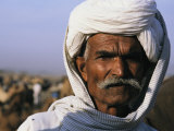 An Informal Portrait of an Indian Man Photographic Print by Ed George
