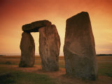 A View of Stonehenge in the Early Morning Light Photographic Print by Richard Nowitz