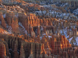 Winter View of Bryce Canyon National Park Photographic Print by Norbert Rosing