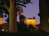Twilight View of Buildings on the Stanford University Campus Photographic Print by Melissa Farlow