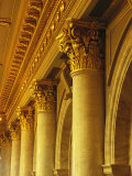 Columns and Gilded Capitals in the Iowa State Capitol Building Photographic Print by Joel Sartore
