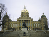The Iowa State Capitol Building Photographic Print by Joel Sartore