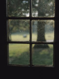 A Museum Window at Fort Frederick Lmina fotogrfica por Raymond Gehman